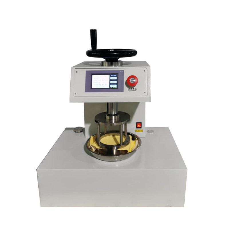 YG825L型数字式渗水性测定仪 织物静水压测试仪 AATCC127厂家直销